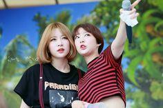 EXID Hani & Hyerin