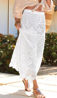 Falda  hecha por encargo de ganchillo CROCHET moda por LecrochetArt, $340.00
