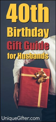 Gift ideas for your husband's birthday Milestone Birthday Ideas Gift Guide for Husband Fortieth Birthday Presents Creative Gifts for Men Celebrating Forty Birthday Party Gifts for Adults Forty Birthday, Adult Birthday Party, 40th Birthday Parties, Cake Birthday, 40th Birthday Cakes For Men, 40th Cake, Birthday Recipes, Birthday Stuff, Birthday Celebrations