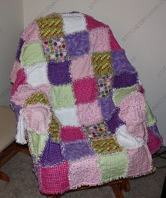 Stitched By Janay: Sudoku Rag Quilt