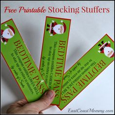 East Coast Mommy: Stocking Stuffer Coupons {free printable}
