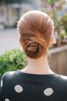Bun Hairstyles - Pretty Updos