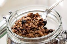 Domácí müsli | Hodně domácí Cereal, Oatmeal, Food And Drink, Baking, Breakfast, Foods, Fitness, The Oatmeal, Morning Coffee