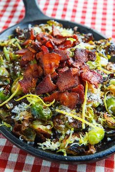 Parmesan Roasted Brussels Sprouts with Double Smoked Bacon (bacon wrapped brussel sprouts) Thanksgiving Side Dishes, Thanksgiving Recipes, Fall Recipes, Double Smoked Bacon Recipe, Protein Shakes, Side Dish Recipes, Vegetable Recipes, Cooking Recipes, Healthy Recipes