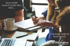 Match the Right Team Office with your Hard Working Team @ OfficingNow https://www.officingnow.com