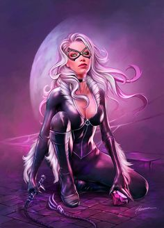 Moonlit heist | Black Cat • Shannon Maer | Airworthy Comics
