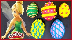 Play-Doh Egg Surprise Disney Tinkerbell Frozen Princess Elsa Disney Fairies