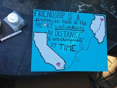 Cute idea for a going away gift