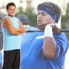 Jeff's before and after transformation! #BiggestLoser