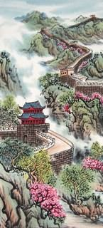 Page 5 Buy Chinese landscape paintings from China & World's Largest Online Chinese Painting Gallery. Asian oriental landscape paintings for sale. Asian Landscape, Chinese Landscape Painting, Chinese Painting, Chinese Art, Landscape Art, Landscape Paintings, Chinese Brush, Asian Artwork, Butterfly Wallpaper