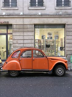 Paris 2CV. I enjoyed taking rides with my landlord in hers.