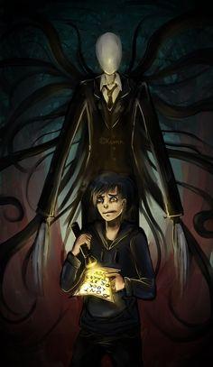 Slenderman: lost boy by gato-kumn on DeviantArt