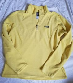 The North Face Women's Yellow Pullover size M #TheNorthFace #Pullover