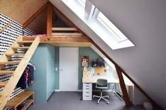 Minimal House Design, Minimal Home, Hippy Room, Upstairs Hallway, Loft Room, Micro House, Happy House, Room Ideas Bedroom, Industrial House