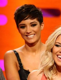 Image detail for -Check out Frankie Sandford's new pixie crop! | Sugarscape |