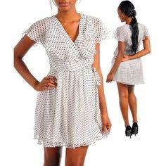 Stanzino Women's White/ Black Party Dress (White N/A)