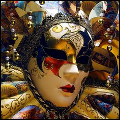 When I think of Venice, I think of masks.