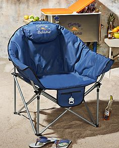 Tommy Bahama   XL Padded Event Chair