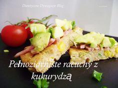 ***dietetyczne dywagacje*** : Pełnoziarniste racuchy z awokado i kukurydzą