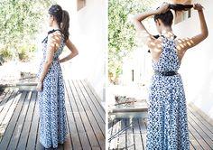 Mi primera máquina de coser: Diy: Un vestido en una hora