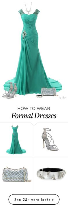 """""""Let's Do it again: Prom '96"""" by ksims-1 on Polyvore featuring Office, Elie Saab, Givenchy and Alexis Bittar"""