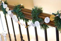 DIY Paper Garland : DIY: paper christmas garland ...