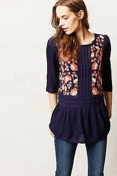 Luana Blouse #anthropologie