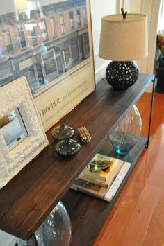Casteel Console Table  Reclaimed Wood Console by hautehabitats, $775.00  70w 14d 29h