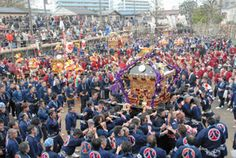下総三山(しもうさみやま)の七年祭り