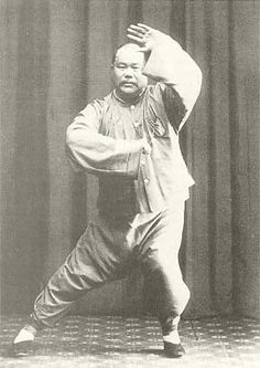 Yang Ch'eng-fu, founder of yang Tai chi, son of Yang Chien-hou and grandson of Yang Lu-chan