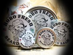 Beard Balm beard wax - https://www.hobofresh.com/shop/beard-mustache/beard-balm-beard-wax/