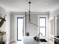 Bent Chandelier - Modern Lighting 1