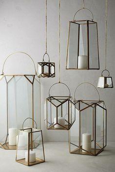 I love these #anthrofave #anthropolgoes brass lanterns