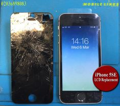 iPhone Cracked Screen Instant Replacement Repair in 30 Minutes Iphone Repair, Mobile Phone Repair, Iphone 5c, Cracked Screen, Peace, London, Room