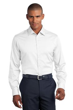 Red House - Slim Fit Non-Iron Pinpoint Oxford Shirt. RH62