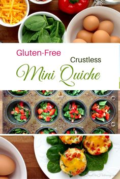 Make a nice, easy, gluten-free breakfast or lunch with eggs, spinach ...