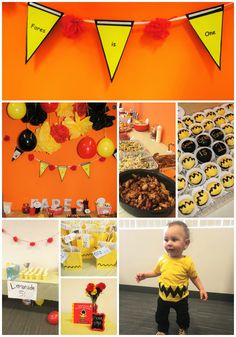 Charlie brown themed birthday party
