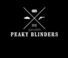 Peaky Blinders - Cross Logo - White Clean