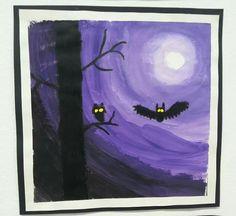 Pöllöt kuutamolla