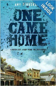 """One Came Home: Amy Timberlake: In the town of Placid, Wisconsin, in 1871, Georgie Burkhardt is known for two things: her uncanny aim with a rifle and her habit of speaking her mind plainly. But when Georgie blurts out something she shouldn't, her older sister Agatha flees, running off with a pack of """"pigeoners"""" trailing the passenger pigeon migration. And when the sheriff returns to town with an unidentifiable body—wearing Agatha's blue-green ball gown—everyone assumes the worst. Except…"""