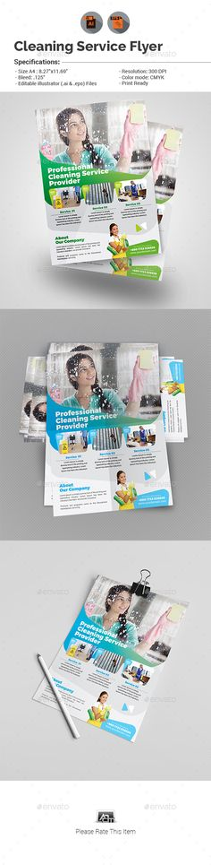 Cleaning Company Flyer Template Pinterest Cleaning Companies Ai