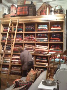 Tartan shop - be still,  my heart!