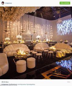 Kris Jenner's Gatsby themed birthday party