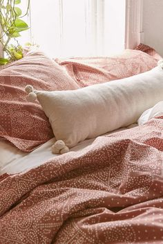 Magical Thinking Ayden Canvas Bolster Pillow - Urban Outfitters