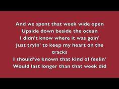 "▶ Luke Bryan ""Roller Coaster"" - Lyrics - YouTube"