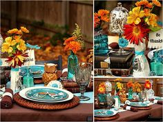 Impart a Bit of Whimsy - Thanksgiving tablescape