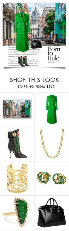 """Born to Rule"" by shoecraycray ❤ liked on Polyvore featuring Giorgio Armani, Gucci, AENEA, Kimberly McDonald and Givenchy"
