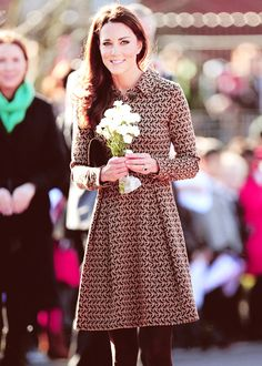Princess Kate. Classy :)  How does she always look so good?