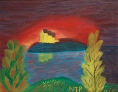 Primus Mortimer Pettersson 1895-1975 The Island.