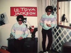 Janet Jackson At Joe Jackson Office, August, 1983